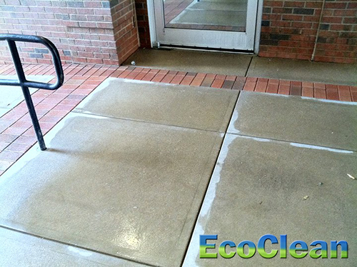 Greenville Concrete Cleaning
