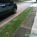 Cleaning a Sidewalk near Anderson, SC