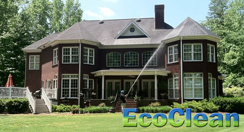 Residential Softwashing In Greenville Sc
