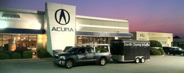 Pressure Washing Acura in Greenville, SC