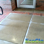 After Hot Water Pressure Washing