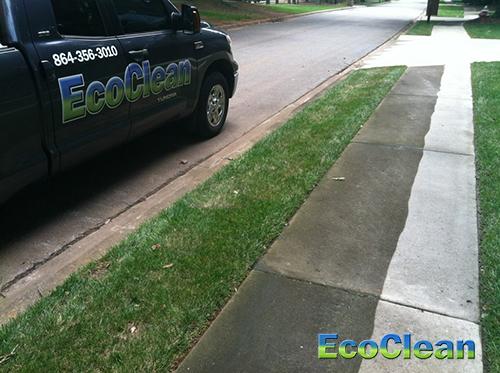Sidewalk Cleaning In Anderson Sc