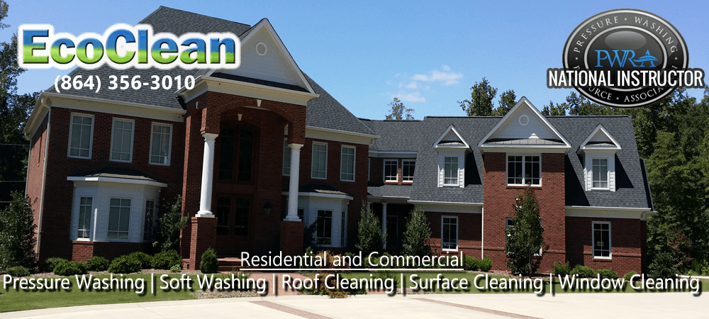 Pressure Washing in Simpsonville. SC | EcoClean